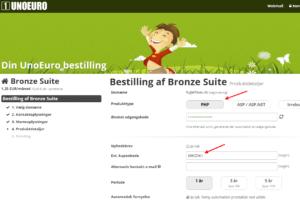 lav din egen hjemmeside - produktdetaljer